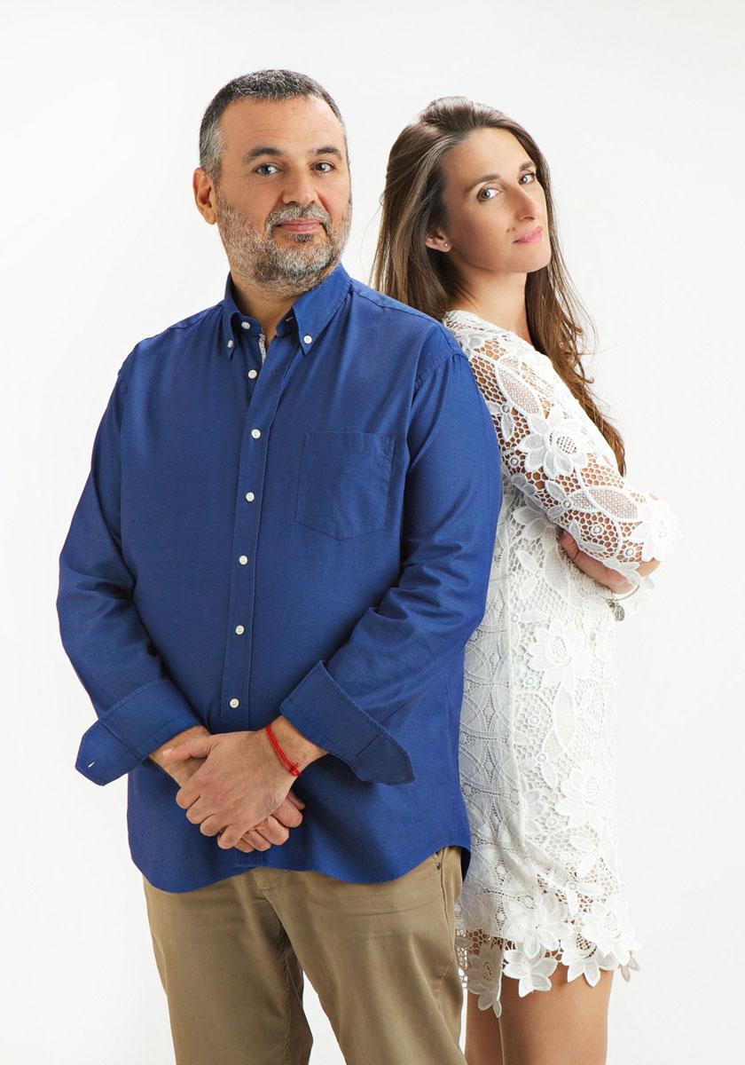 Pedro Moreno y Ana Gutiérrez, psicólogos clínicos