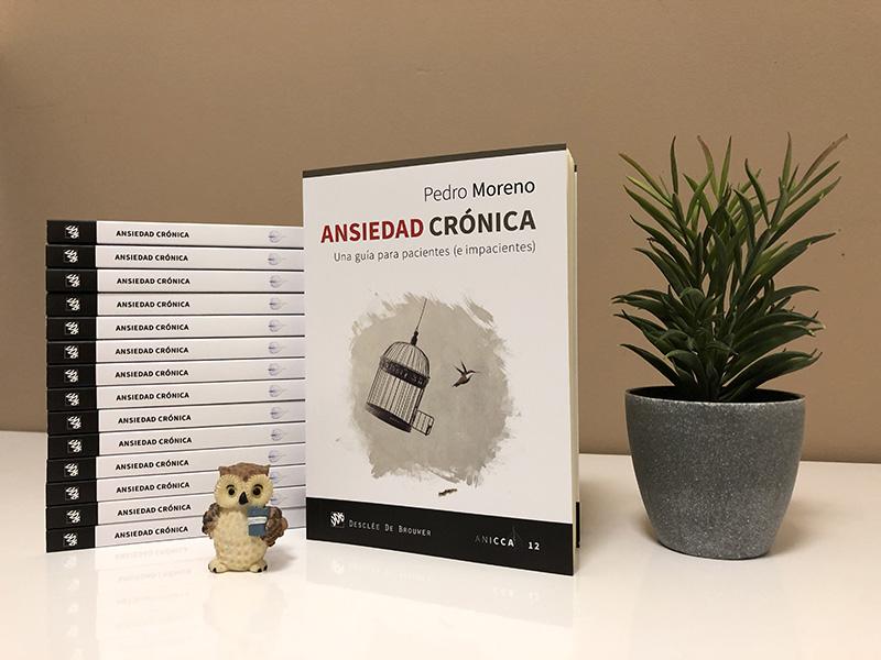 Ansiedad Crónica, nuevo libro de Pedro Moreno